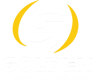 Golden Silkscreening and Embroidery logo