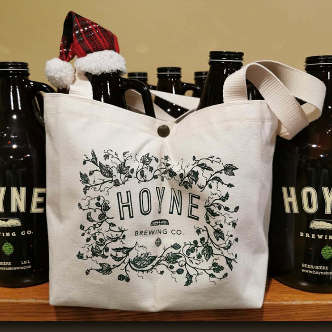 Custom beer bags -Hoyne Brewery