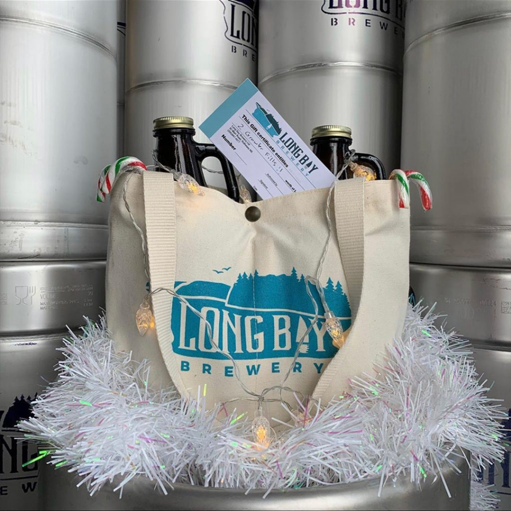 Custom beer bags - Long Bay